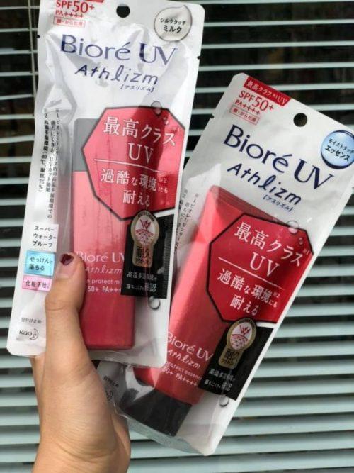 Kem chống nắng Biore UV Athlizm review thực tế từ chuyên gia
