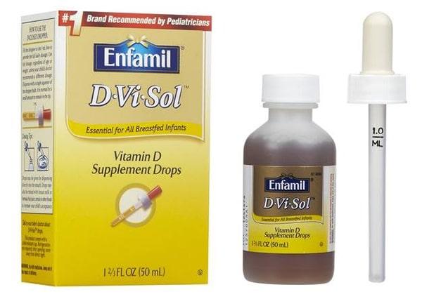 Thuốc Vitamin d enfamil d vi sol có tốt không?