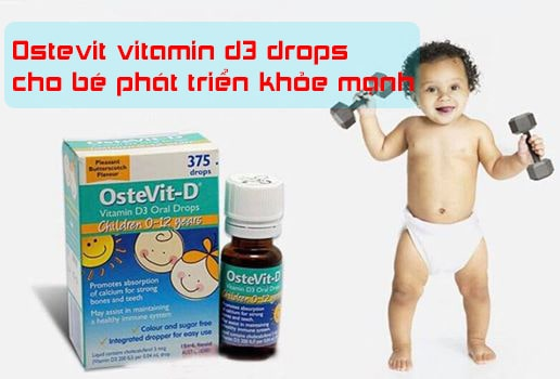 Ostevit vitamin d3 drops
