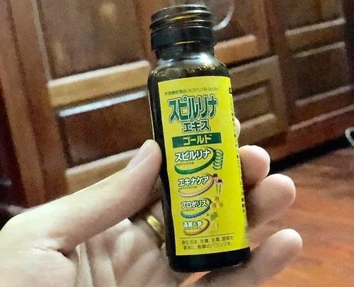 Tảo vàng EX Spirulina dạng nước có tốt không-2