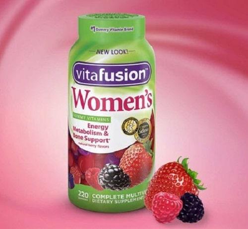 Kẹo dẻo vitamin Vitafusion Womens có tốt không-2