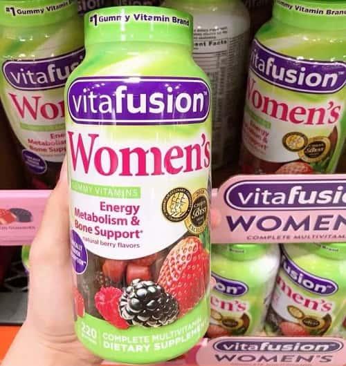 Kẹo dẻo vitamin Vitafusion Womens có tốt không-3