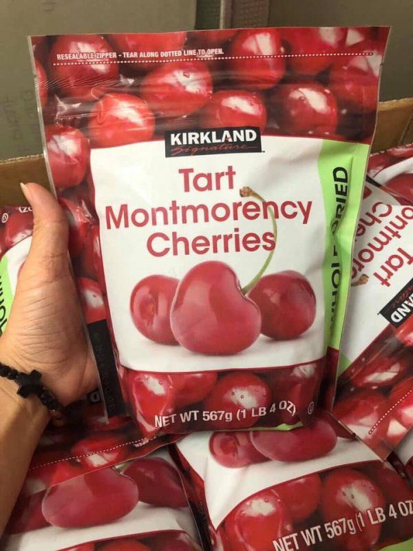 Cherry sấy khô kirkland 567g mua ở đâu uy tín, đúng giá 3