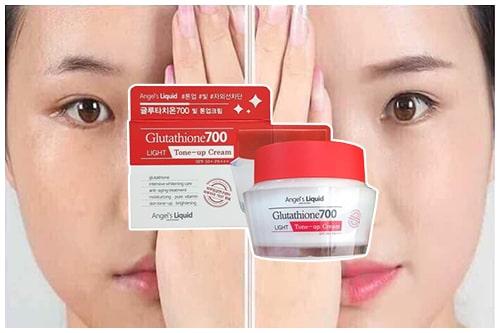 Kem dưỡng trắng Glutathione 700 Light Tone Up Cream có tốt không-3