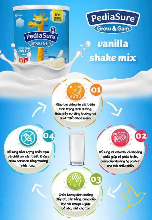 Review sữa pediasure grow and gain có tốt không? và giá bán 1