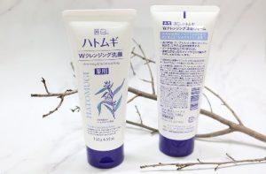 Sữa rửa mặt hạt ý dĩ Hatomugi Naturie giá bao nhiêu-1