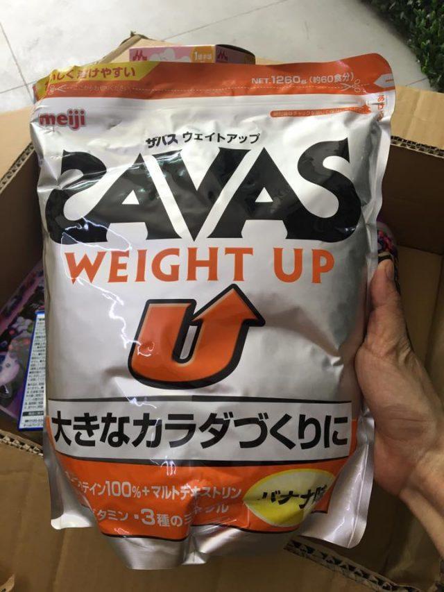 Cách uống sữa tăng cân savas của Nhật hiệu quả từ chuyên gia
