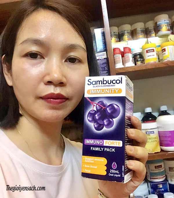 Nên uống Sambucol vào lúc nào tốt nhất? Cách sử dụng từ chuyên gia1