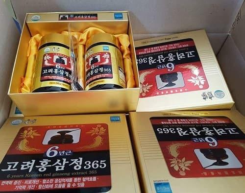 Review cao hồng sâm 365 hộp 2 lọ của Hàn Quốc-1