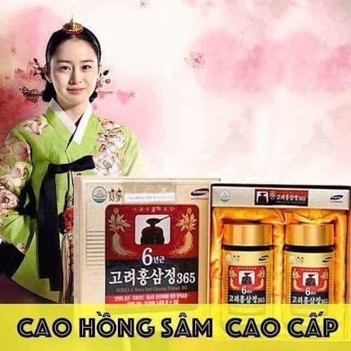 Review cao hồng sâm 365 hộp 2 lọ của Hàn Quốc-5