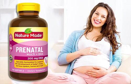 Nature Made Prenatal Multi + DHA có tốt không-3
