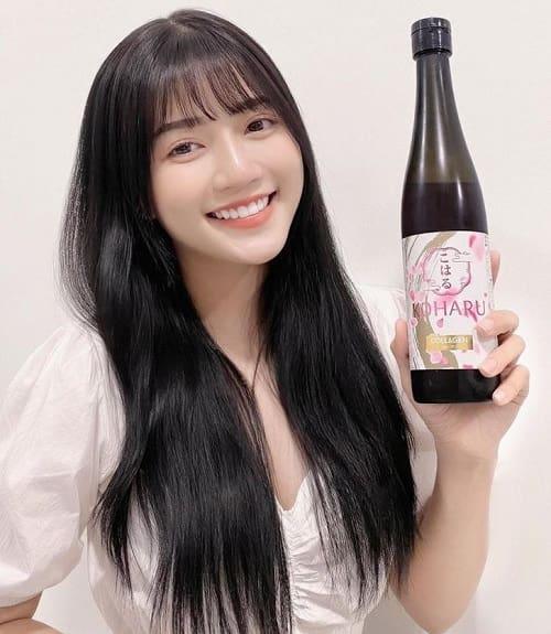 Nước uống đẹp da Koharu Collagen review-5