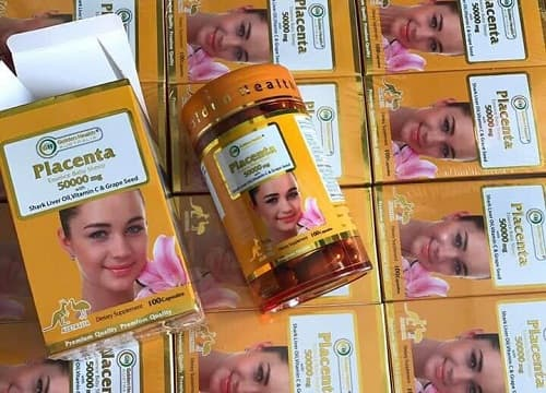 Review viên uống nhau thai cừu Golden Health Placenta 50000mg-1
