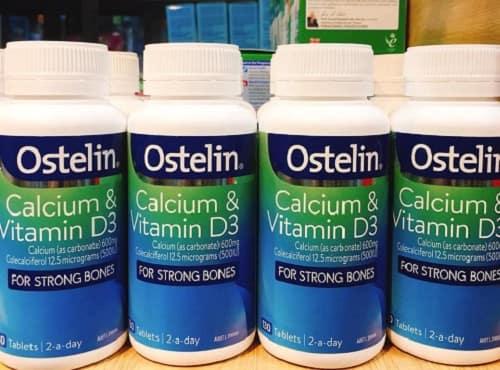 Review Ostelin Calcium & Vitamin D3 cho bà bầu mẫu mới-1