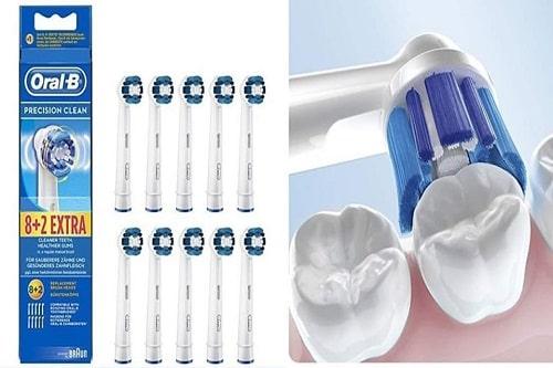Review set đầu bàn chải điện Oral-B Precision Clean-4