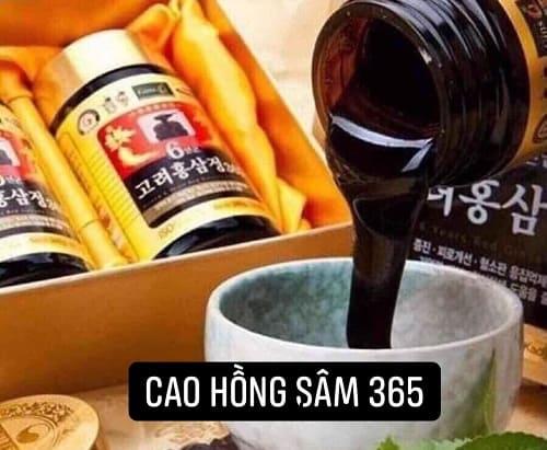 Công dụng của cao hồng sâm 365 Hàn Quốc là gì?-2