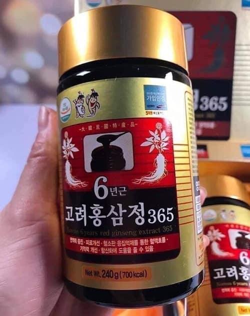 Công dụng của cao hồng sâm 365 Hàn Quốc là gì?-3