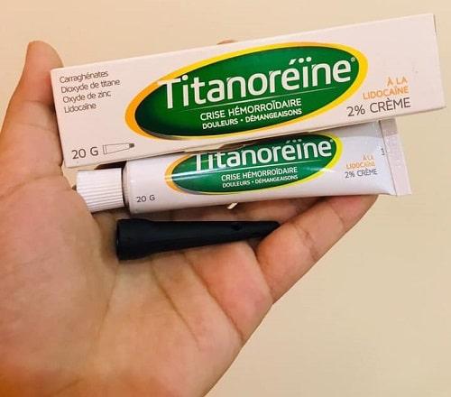 Thuốc bôi trĩ Titanoreine có dùng được cho bà bầu?-4