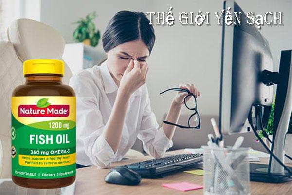 Dầu cá nature made fish oil 1200 mg 360 mg omega-3 giá bao nhiêu?