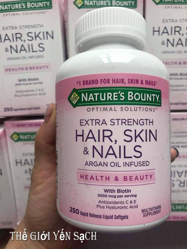Thông tin sản phẩm Thuốc Hair Skin & Nails