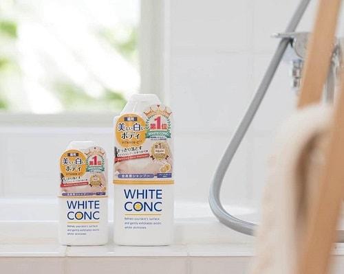 Sữa tắm White Conc có bắt nắng không?-2