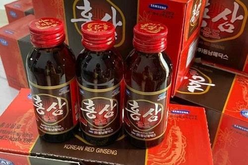Nước uống hồng sâm Korean Red Ginseng review-1