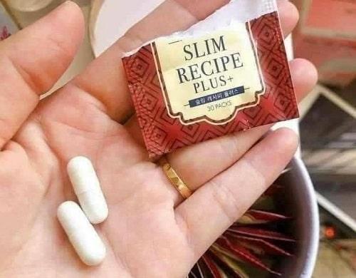 Thuốc giảm cân Genie Slim Recipe màu đỏ review-4