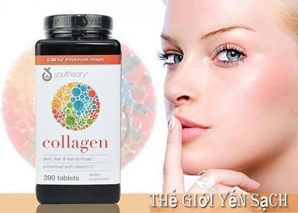 Công dụng Collagen Youtheory Type 1 2 & 3: