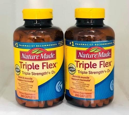 Cách sử dụng thuốc Triple Flex Nature Made 200 viên-2