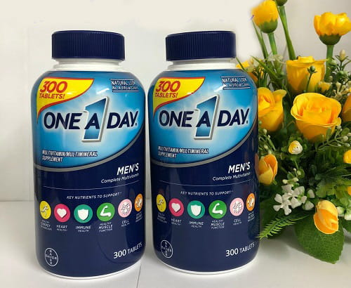Thuốc One A Day Men's Complete Multivitamin review-3