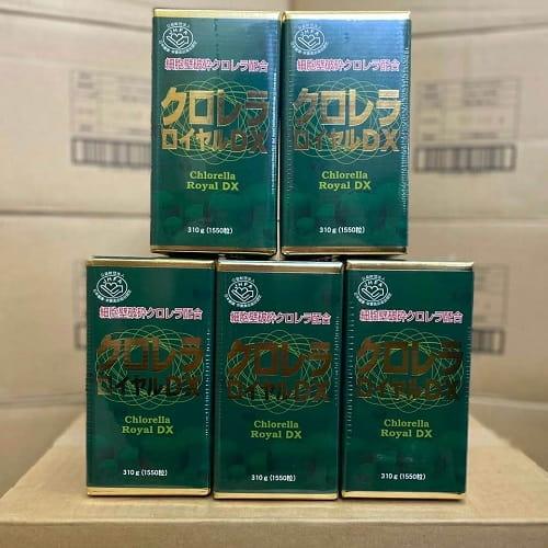 Viên tảo Chlorella Royal DX Japan review-2