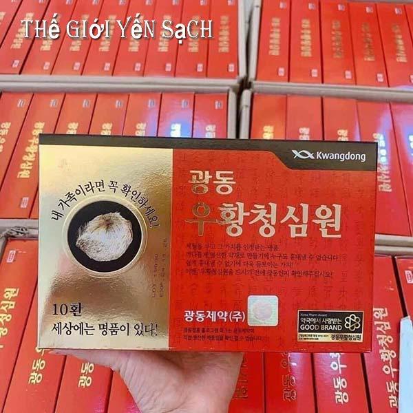 Cách uống An cung ngưu hoàng hoàn Hàn Quốc từ chuyên gia