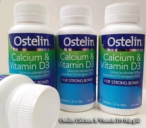 Ostelin Calcium & Vitamin D3 thật giả phân biệt ntn?-1