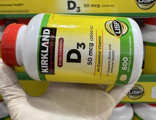 Viên uống Kirkland Signature Vitamin D3 2000IU review-4