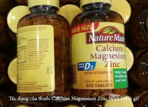 Tác dụng của thuốc Calcium Magnesium Zinc With D3 là gì?-1