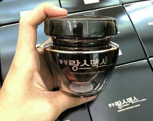 Kem trị nám Dongsung Rannce Cream review mẫu mới-2